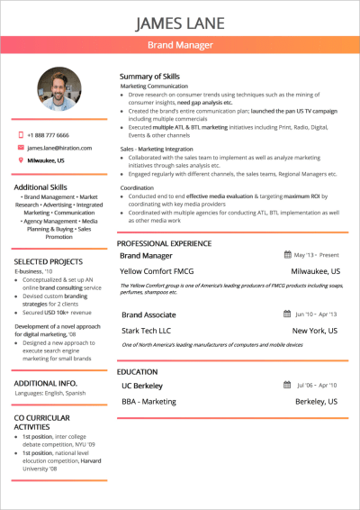 How To Craft The Perfect Web Developer Resume Ankaa Pmo