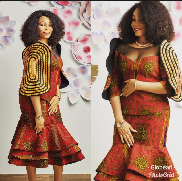 Pretty Ankara Skirt & Blouse