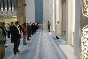 Diyanet İşleri Başkanı Erbaş, sabah namazında öğrencilerle buluştu