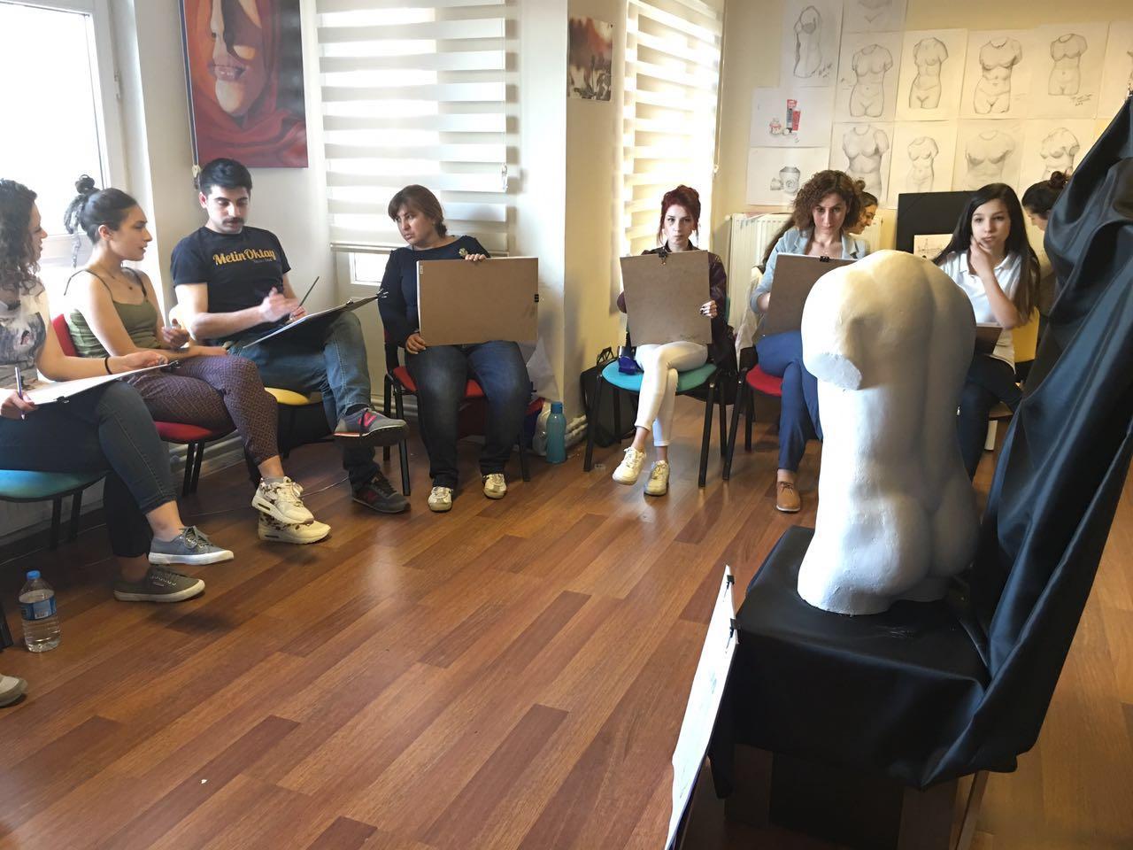 Güzel Sanatlar Özel Yetenek Sınavlarına Hazırlık