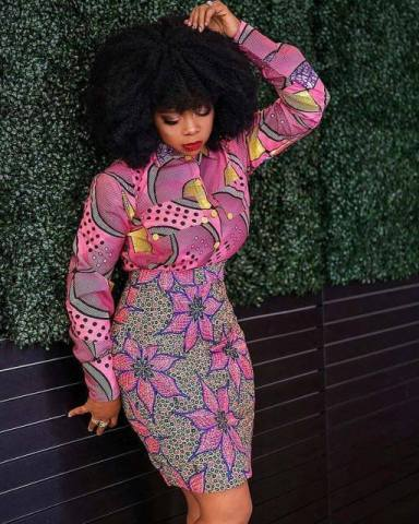 Ankara Gowns With Attractive Native Styles To Try In 2020