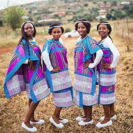 Amazing Traditional Dresses 2020 For South African Celebs