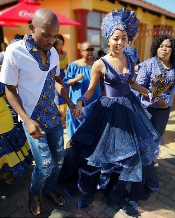 Cute Traditional Dresses 2020 For South African Celebs