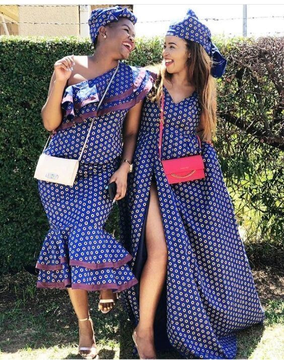 35 Traditional Shweshwe Dresses 2021That Are Perfect