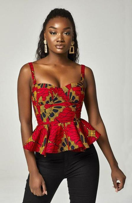22 Modest Ankara Tops Styles 2020 The Best To Inspire You