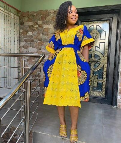 24 Best Ankara Short Gown Styles 2020 To Appear As A Queen