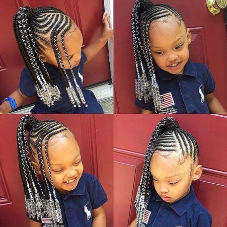 Incredible 35 Best Ghana Braids Hairstyles For Kids With Tutorial 2020 Natural Hairstyles Runnerswayorg