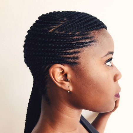 23 Best Ghana Braids Styles Ponytails in 2020 To Try ASAP