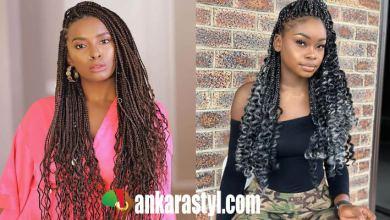 24 Perfect Black Goddess Box Braids Hairstyles 2020 To Copy