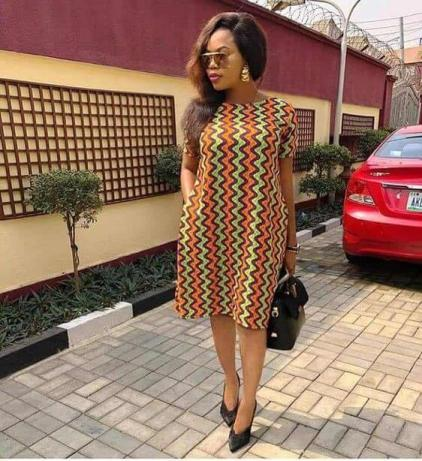 25 Latest Ankara Short Gown Styles for ladies In Nigeria 2021
