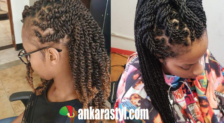 21 Perfect Nubian Twist Braids Hairstyles For Short And Long Hair