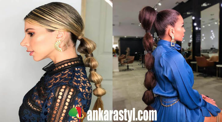 15 Pretty Bubble Ponytail 2020 For Best African Moments