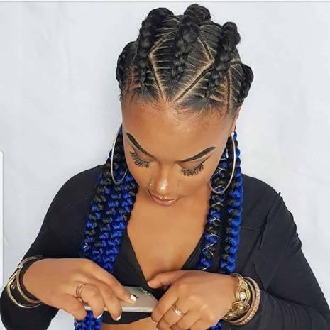Bold Cornrows Braids Hairstyles 2020