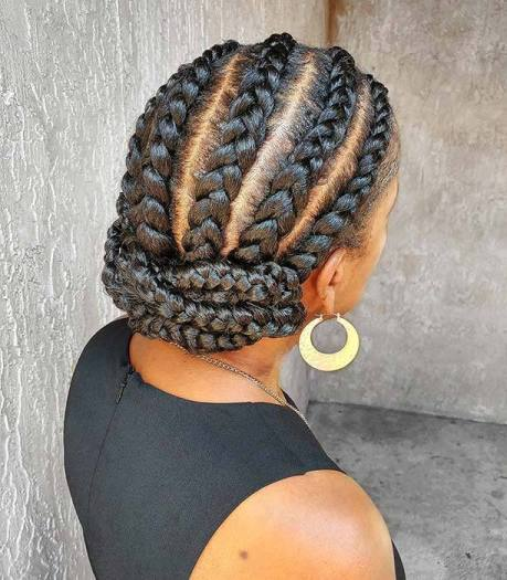 24 Stunning Cornrow Hairstyles for Black Women In 2021