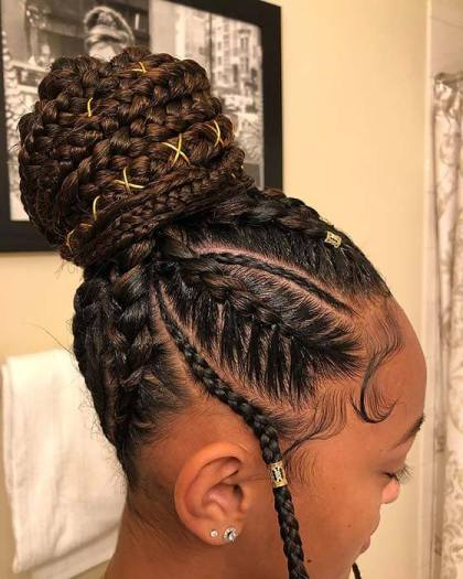 2 Cornrow Braid Styles