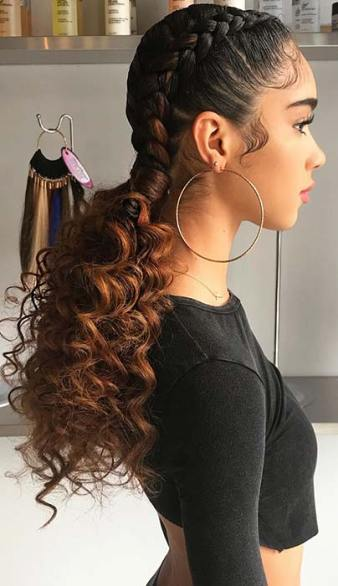 Two Braids with Weave