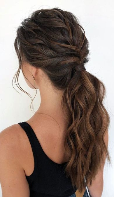 26+ Amazing Ways To Braid High Ponytail Hairstyles In 2020