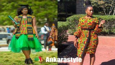 43 Best African Women Fashion Dress With Kente Styles 2020