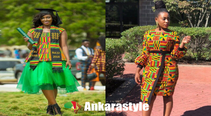 43 Best African Women Fashion Dress With Kente Styles 2020