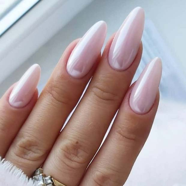 Best Almond Nails Image in 2020