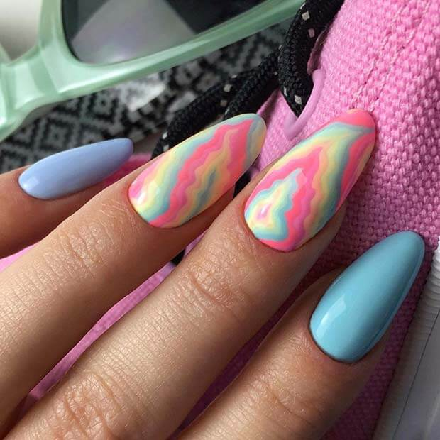 Cute and Colorful Nail Design