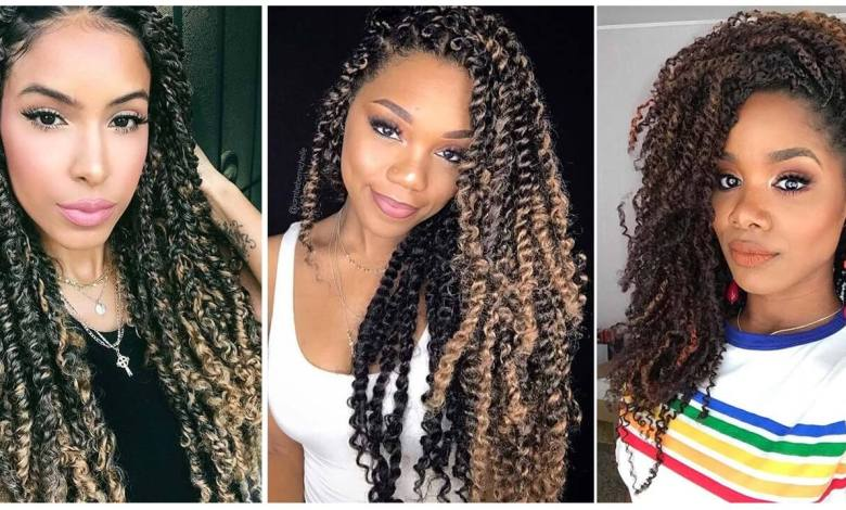 23 Passion Twist Braids Hairstyles - Amazing To Wear In 2021