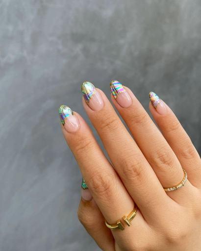 Rainbow Nails 2021 Trends