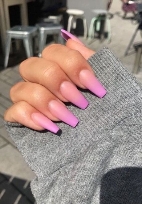 26+ Trendy Pink Ombre Nail Art Ideas For Best Manicures 2020