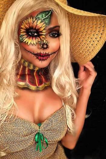 Pretty Scarecrow Halloween Costume ideas