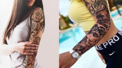 25+ Perfect Feminine Tattoo Sleeves Designs To DIY In 2020
