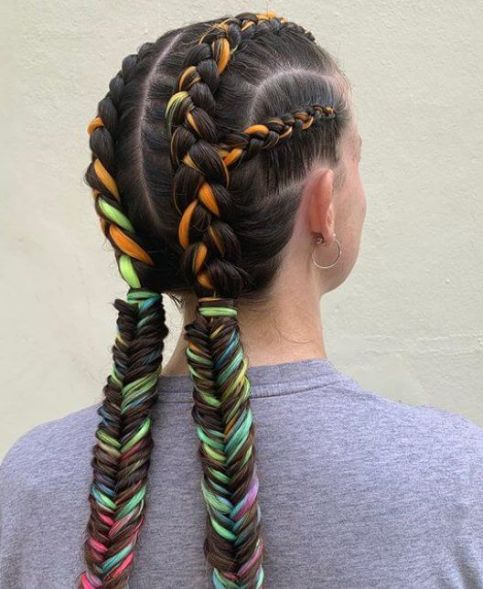 27 Best Goddess Braids Ponytails Excellent To Try This Season