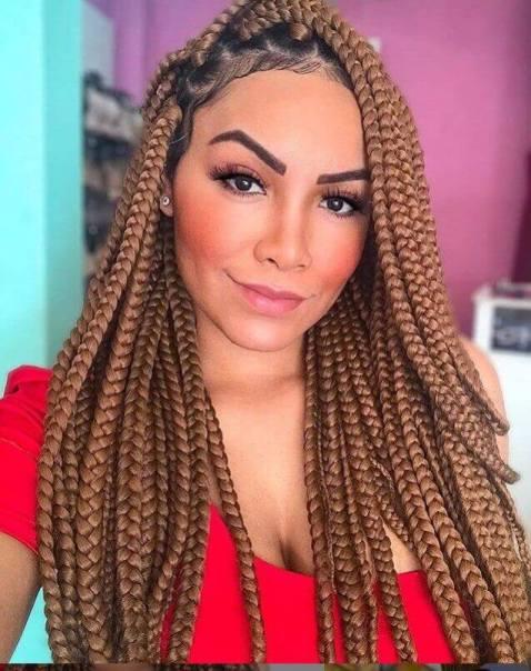 23 Box Braids On White Girls 2021