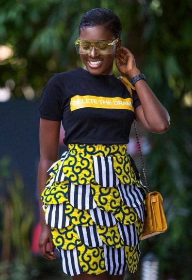 Amazing 35 Ankara Styles for skirt and blouse To Copy In 2020