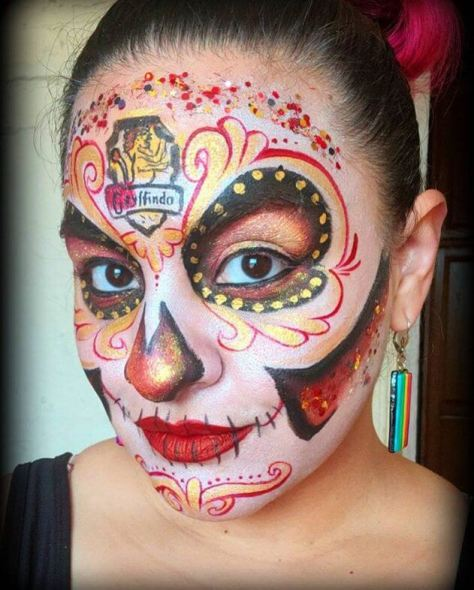 Guide To DIY 30 Sugar Skull Makeup for Halloween Now