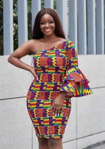 Kente Dresses for Engagement