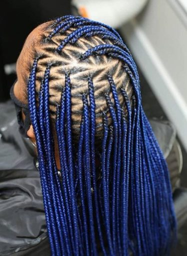 Side lemonade braids