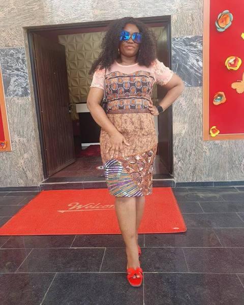 Velvet Ankara dresses
