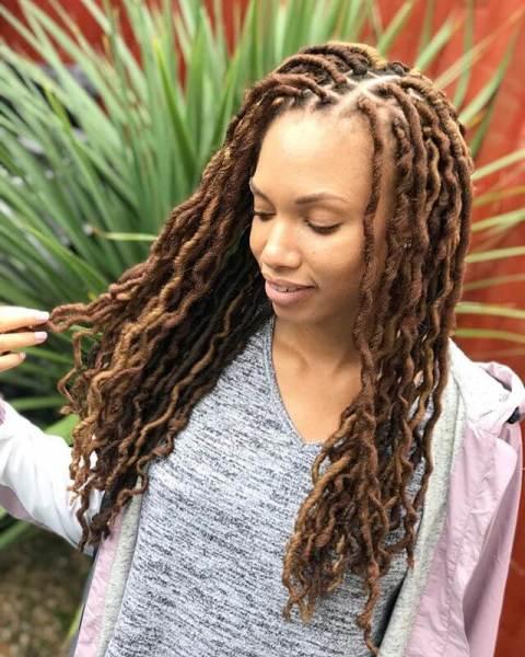 Passion Twist Crochet Hair