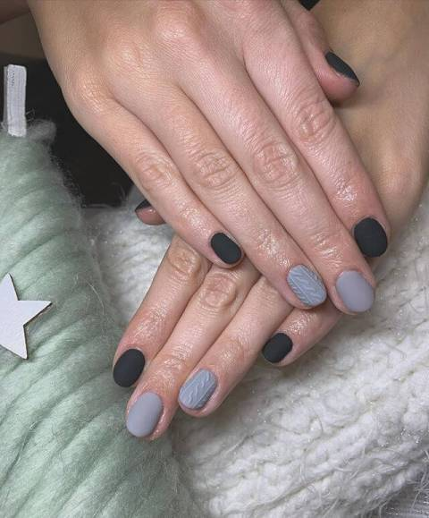 13. Ombre Nails For Winter That Are Awesome Nail Art 2021 Trends