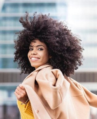 Chic Afro Protective Hairstyle