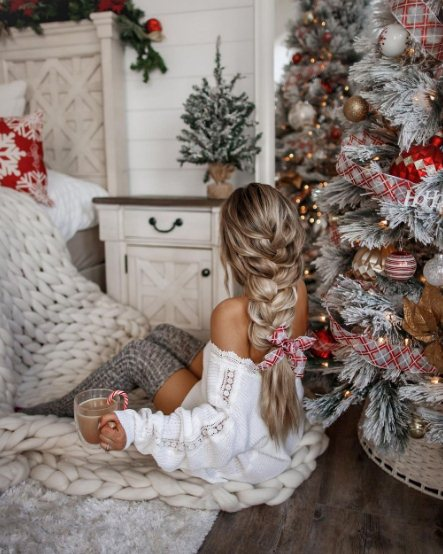 Christmas and New Year Eve Hairstyles