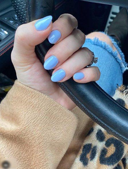 6. Long Pastel Nails