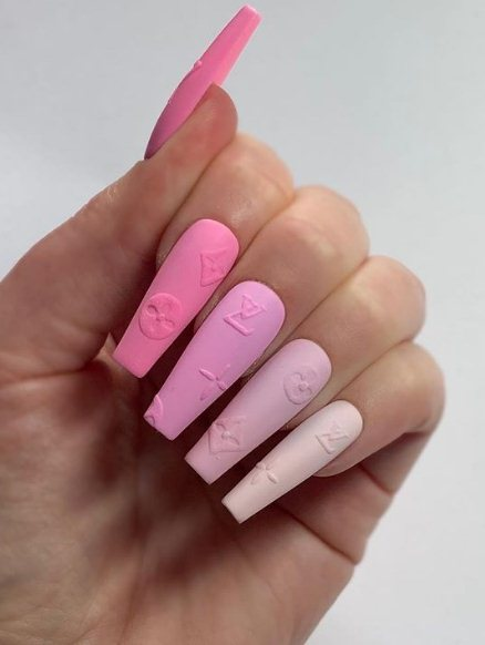 24 Cute Long Coffin Nail Ideas 2021 To Copy Now