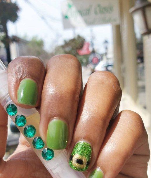 Leprechaun Nail Design