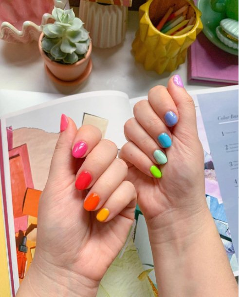 Rainbow Stripes and Clovers