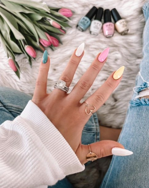 Spring and Easter Nails