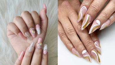 23+ White and Gold Nails - Easy To Try In Spring 2021