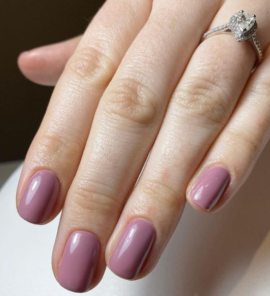 Mulberry Bold Nail Designs