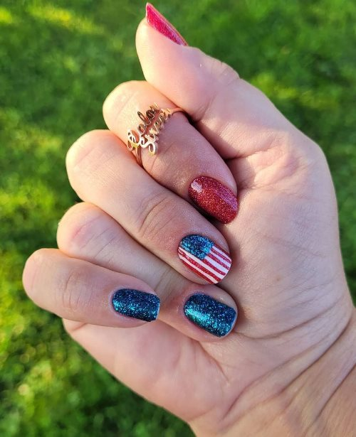 National Fourth of July screws