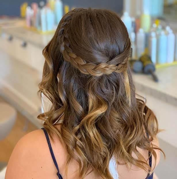 Beautiful Braids with Curls